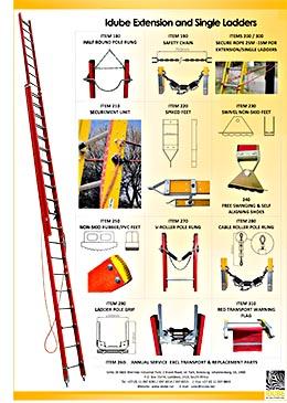 Idube Fibreglass Ladder Flyer Eskom front page