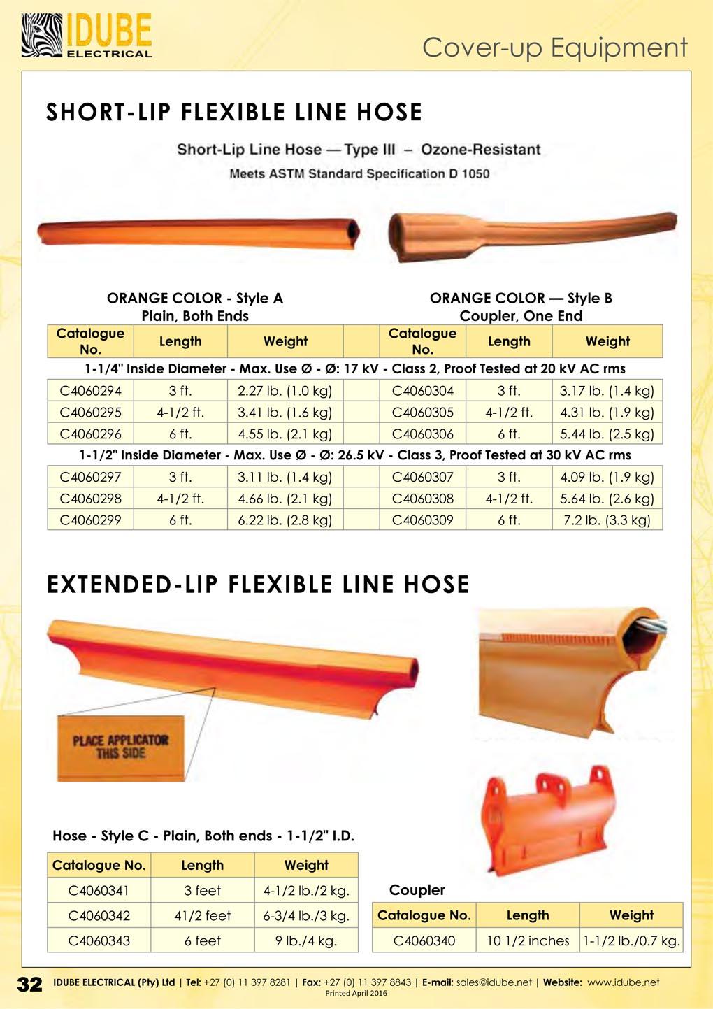 Idube Flexible LIne Hoses - 1020 x 1443